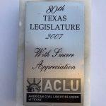 ACLU Appreciation
