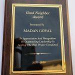 Neighbors Award